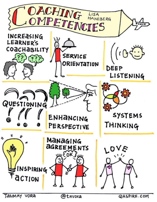 Infographic of Coaching Competencies